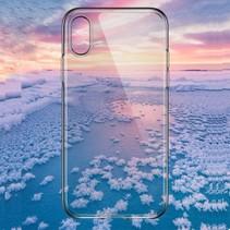 Totu TPU Hoesje iPhone XS Max - Transparant