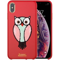 Nillkin Uil Hardcase Hoesje iPhone XS Max - Rood