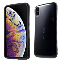 Iface Mall Hybrid Hoesje iPhone XS Max - Zwart