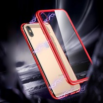 Rock Hardcase Hoesje iPhone XS Max - Rood