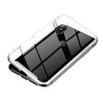 Baseus Hardcase Hoesje iPhone XS Max - Zilver