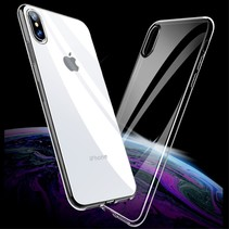 X-level TPU Hoesje iPhone XS Max - Transparant