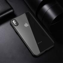 Ipaky Hybrid Hoesje iPhone XS Max - Zwart