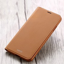 X-level Flipcase Hoesje iPhone XS Max - Bruin