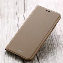 X-level Flipcase Hoesje iPhone XS Max - Khaki