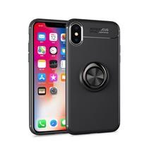 Lenuo TPU Hoesje iPhone XS Max - Zwart