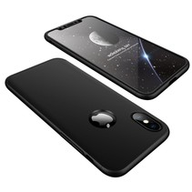Gkk Hardcase Hoesje iPhone XS Max - Zwart
