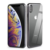 Vorson VC-053 TPU Hoesje iPhone XS Max - Zwart