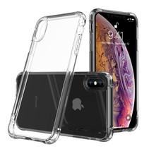 Leeu Design Hardcase Hoesje iPhone XS Max - Transparant