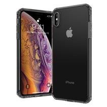 Leeu Design TPU Hoesje iPhone XS Max - Zwart