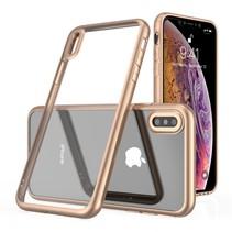 Leeu Design Hybrid Hoesje iPhone XS Max - Goud
