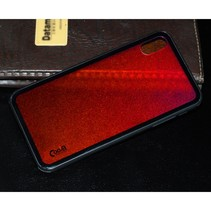 Cooya Hybrid Hoesje iPhone XS Max - Rood