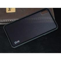 Cooya Hybrid Hoesje iPhone XS Max - Zwart