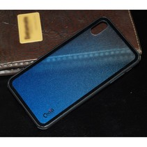 Cooya Hybrid Hoesje iPhone XS Max - Blauw