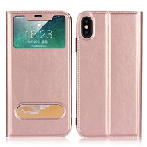 Booktype Hoesje iPhone XS Max - Roze / Goud