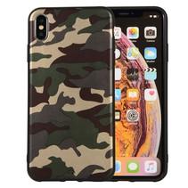Camouflage TPU Hoesje iPhone XS Max - Groen