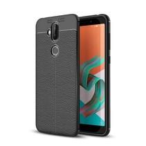 Litchee TPU Hoesje Asus ZenFone 5 Lite - Zwart