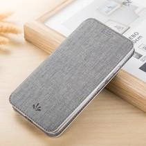 Vilidmx Booktype Hoesje Asus ZenFone 5Z - Grijs