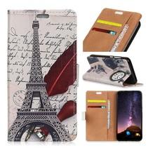 Eiffeltoren Booktype Hoesje Asus Zenfone Live L1