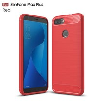 TPU Hoesje Asus Zenfone Max Plus - Rood