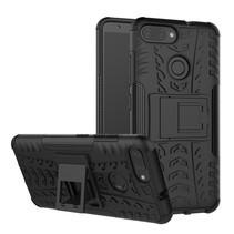 Hybrid Hoesje Asus Zenfone Max Plus - Zwart