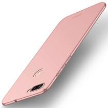 Mofi Hardcase Hoesje Asus Zenfone Max Plus - Roze / Goud
