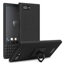 Imak Hardcase Hoesje Blackberry Key2 - Zwart