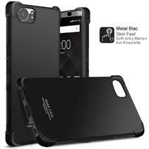 Imak TPU Hoesje Blackberry KeyOne - Zwart