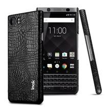 Imak Krokodillen Hardcase Hoesje Blackberry KeyOne - Zwart