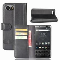 Booktype Hoesje Blackberry KeyOne - Zwart
