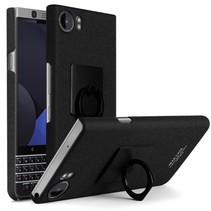 Imak Hardcase Hoesje Blackberry KeyOne - Zwart