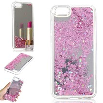 Glitters TPU Hoesje Honor 7s - Roze