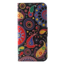 Abstracte Figuren Booktype Hoesje Honor 7s