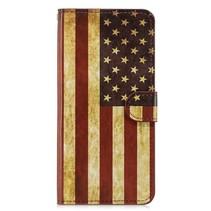 Amerkaanse Vlag Booktype Hoesje Honor 8x