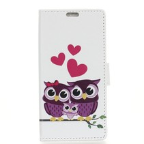Uil Familie Booktype Hoesje Honor 10 Lite