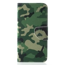 Camouflage Booktype Hoesje Honor Play