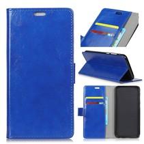 Booktype Hoesje HTC U12 Life - Blauw