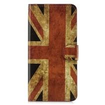 Britse Vlag Booktype Hoesje Samsung Galaxy A7 2018