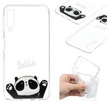 Panda TPU Hoesje Samsung Galaxy A7 2018
