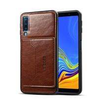 Booktype Hoesje Samsung Galaxy A7 2018 - Koffie