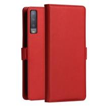 Dzgogo Booktype Hoesje Samsung Galaxy A7 2018 - Rood