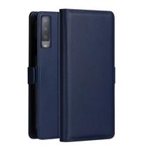 Dzgogo Booktype Hoesje Samsung Galaxy A7 2018 - Donker Blauw