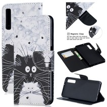 Kat Booktype Hoesje Samsung Galaxy A7 2018
