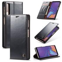 Caseme Booktype Hoesje Samsung Galaxy A7 2018 - Zwart