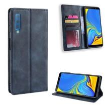 Booktype Hoesje Samsung Galaxy A7 2018 - Blauw