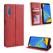 Booktype Hoesje Samsung Galaxy A7 2018 - Rood