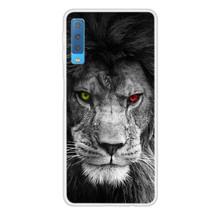 Leeuw TPU Hoesje Samsung Galaxy A7 2018