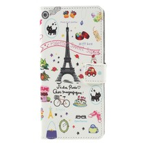 Eiffeltoren Booktype Hoesje Samsung Galaxy A9 (2018)
