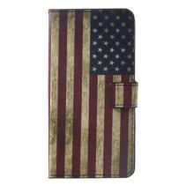 Amerikaanse Vlag Booktype Hoesje Huawei Mate 20