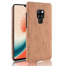 Hardcase Hoesje Huawei Mate 20 - Bruin